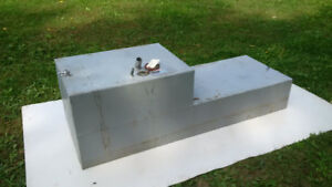 Fuel Tank - Aluminum or Plastic - Gas or Diesel - 4 Available