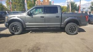 LIFTED 2016 Ford F-150 XLT w custom leather heated seats