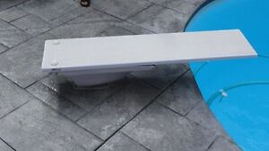Pool Diving Board - Inter-Fab, 70 x 17 Inches, Residential Use