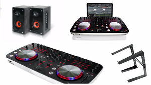 PIONEER DJ SET + SPEAKERS + LAPTOP STAND