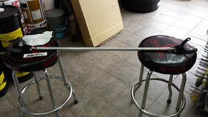 1988 - 1998 Mazda MX3 Protege Ractive Rear Strut bar Polished .