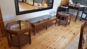 Glass coffee and End tables Peterborough Peterborough Area image 2