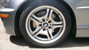 BMW M ALLOY RIMS AND TIRES STYLE 68 WHEELS