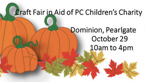 Craft Fair in Aid of PC Children's Charity