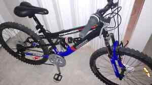 Infinity, 24inch boy's bike, dual suspension $150 OBO