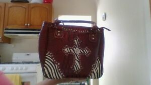 Purse with Cross - NEW