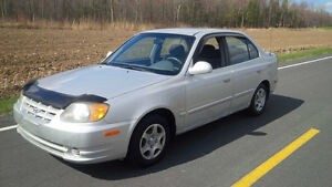 HYUNDAI ACCENT 2004 AUTOMATIQUE 126.000 MILES