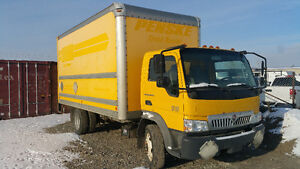 Trade/swap 3 ton truck with lift gate and ramp