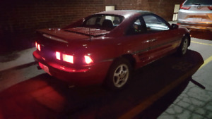 1991 MR2 SOUTHERN USA CAR LEFT HAND DRIVE