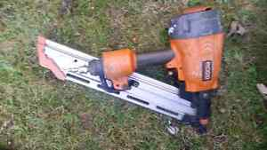 Ridgid stick nailer and bostitch coil nailer and router Kitchener / Waterloo Kitchener Area image 1