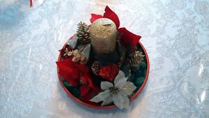 christmas candle holder centerpiece Gatineau Ottawa / Gatineau Area image 1