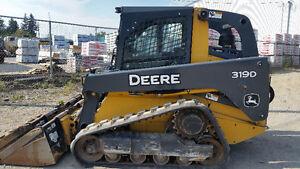 John Deere 319D Track Loader