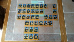 CFL Team Issued Sets Hamilton Tiger Cats Cards 1982, 83, 1998, 1