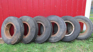 9.00 - 20 tires and rims