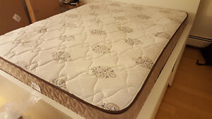 Queen Size Mattress and Spring box