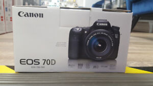 Canon EOS 70D 20.2 MP Digital SLR Cam (Body only)
