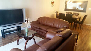 FULLY FURNISHED AND EQUIPED 2 BDRMS CONDO IN AYLMER, IMMED.