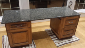 Granite top and Desk from Kitchen