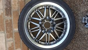 "4 - 17"" Used Wheels"