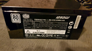 1250w Cooler Master power supply