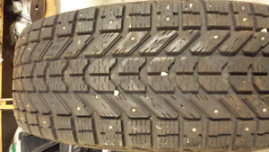 studded winter tires 2 sets of 4 Regina Regina Area image 5