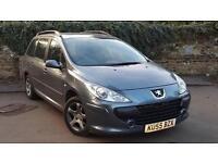 Peugeot 307 1.6HDi ( 110bhp ) 2005MY S Brilliant price range diesel estate
