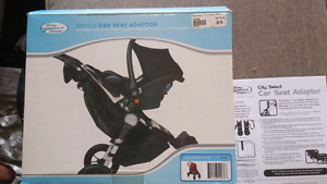 City Select Car Seat Adapter