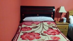 Double Bed with Headbord