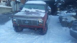 1986 Ford F-250 xl Pickup Truck