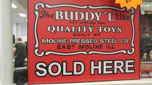 Buddy L neon sign