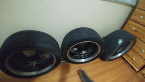 "20"" FOOSE wheels n tires"