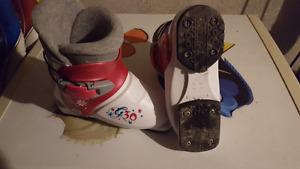 Tecno pro girls ski boots