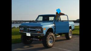 1969 GMC K2500 4X4 Show Truck