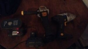 cordless 1/2' impact gun and grinder