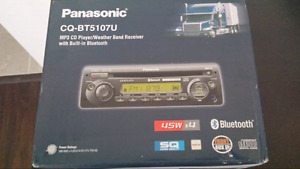 Panasonic mp3 cd player/ bluetooth