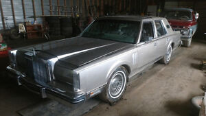 1980 Lincoln Town Car mark VI Sedan