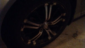 4 Winter tires for sale--- 215 50 R17