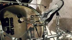 Cb drums full set w/ double pedals