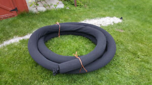 Weeping tile/ filter pipe with sock 45 feet long$35.00