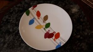 "Kate Spade Lenox Plates - set of 4 dinner plates - ""Fir Street"""
