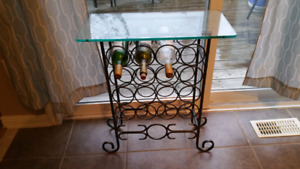 Bottle rack/table