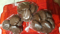 Home made peppermint patties