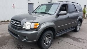 Toyota Sequoia Limited ( Toyota RES ) DVD 8 passenger
