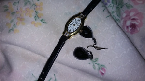 WATCH AND EARRINGS