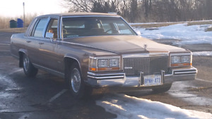 1987 Cadillac Brougham Polk Audio Gold Edition