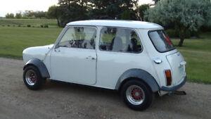 78 classic Mini with honda engine