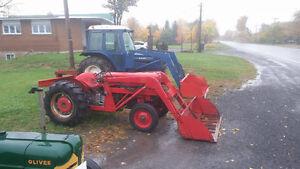 Tracteur ford 6600 et tracteur massey ferguson 50 a vendre
