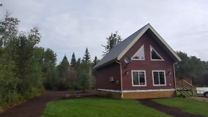 Cabin in plamondon close to lac la biche lake  and whitesands