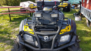 2012 Can-am Outlander xmr 800