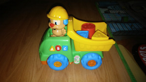 Fisher Price laugh & learn dump truck